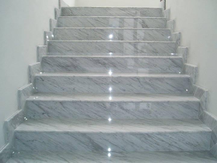 Kavala marble - steps in Algeria