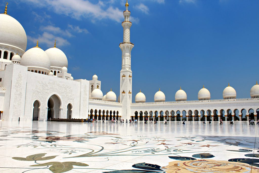 Sivec marble - Grand Mosque in UAE