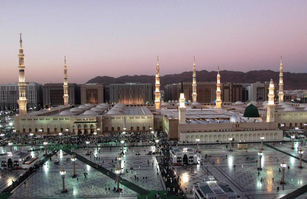 Thassos Marble - Masjid Nabawi in Medina