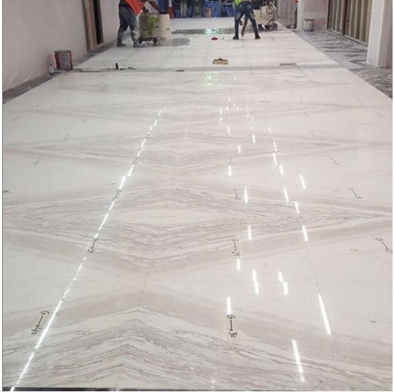 Volakas bookmatch marble - malls in UAE